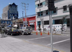 En el corazón comercial de Iquique Local en Plaza Condell 70 m2